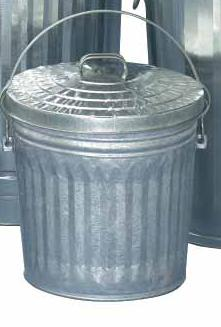 Witt Pail and lid, medium duty 10GPCL