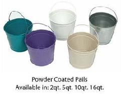 Witt 5 quart powder coated purple radiance W5PCPR